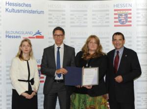 """Feierliche Übergabe des Zertifikats """"Europaschule"""""""